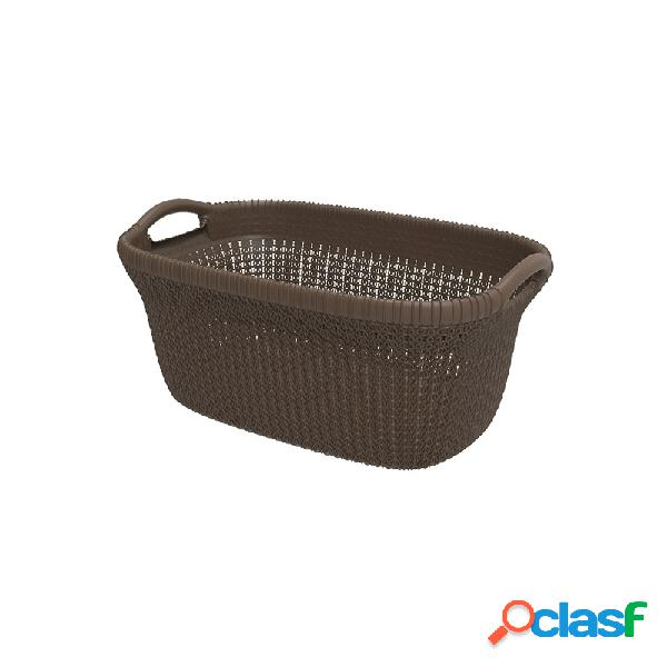 Cesta ropa knit curver chocolate