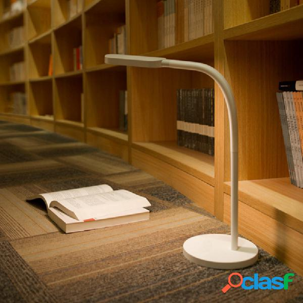 Yeelight led touch rechargeable dimmable desk lámpara smart table light (producto del ecosistema xiaomi)
