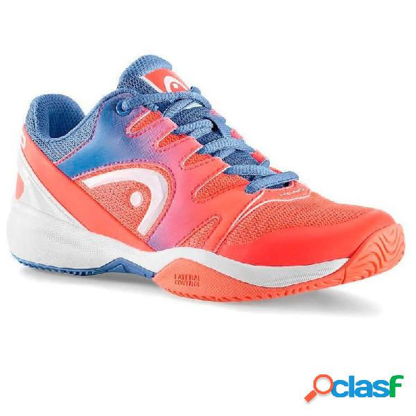 Zapatillas Head Sprint 2.0 Junior Azul / Coral