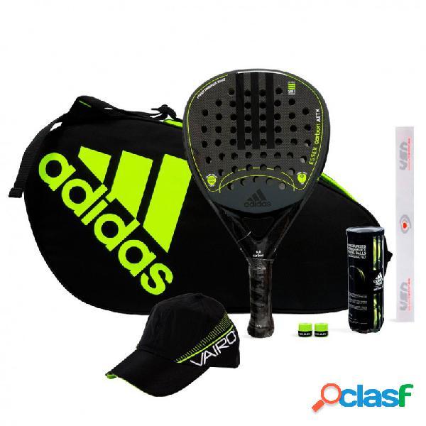Pack adidas essex carbon attack black ltd + control black