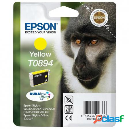 Cartucho tinta amarillo epson t0894 - 3.5ml - mono - compatible segun