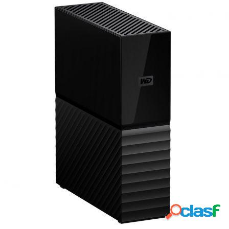 "Disco duro externo western digital my book v3 - 4tb - 3.5""/8.89cm - so"