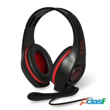 Auriculares con microfono spirit of gamer pro-h5 - drivers 40mm - cone