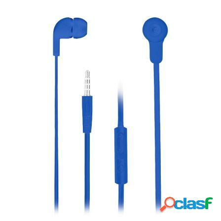 Auriculares intrauditivos ngs cross skip blue - drivers 10mm - tecnolo
