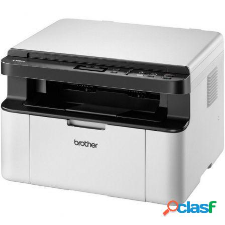 Multifuncion laser monocromo brother wifi dcp-1610w - 20ppm - scan 600