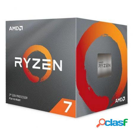 Procesador amd ryzen 7 3700x - 8 nucleos - 3.6ghz - socket am4