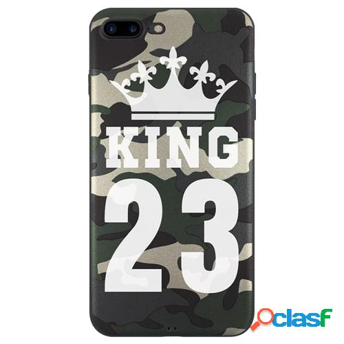 Iphone 7 plus - funda militar king con el número que quieras