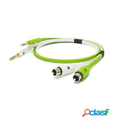 Neo cable d+ xft class b jack a xlr hembra 3m