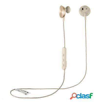 I.am+ buttons bt headphones gold