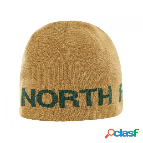 Gorro the north face reversible banner green verde