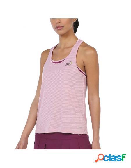 Camiseta bullpadel duda 2020 rosa - ropa padel bullpadel