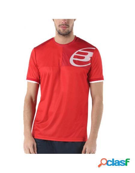 Camiseta bullpadel choix rojo 2019 - ropa hombre
