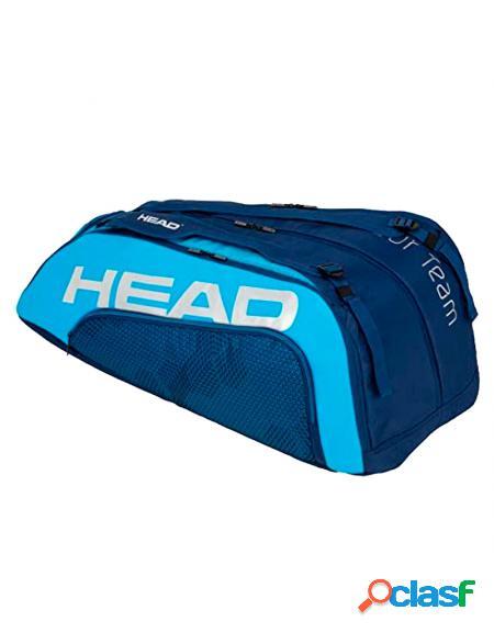 Paletero head 12r tour team monstercombi azul - paleteros head