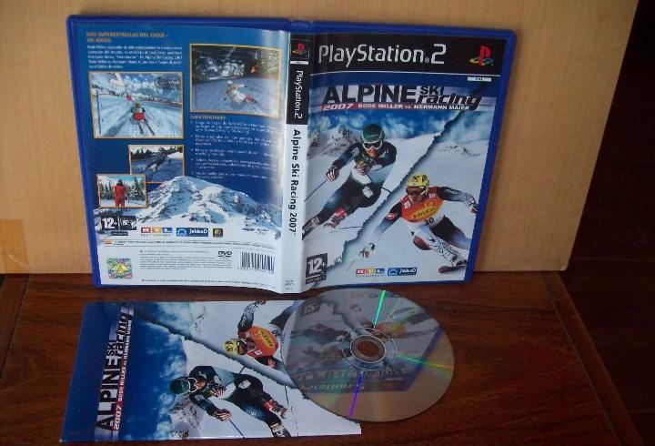 Alpine ski racing 2007 - playstation 2 pal españa cd como