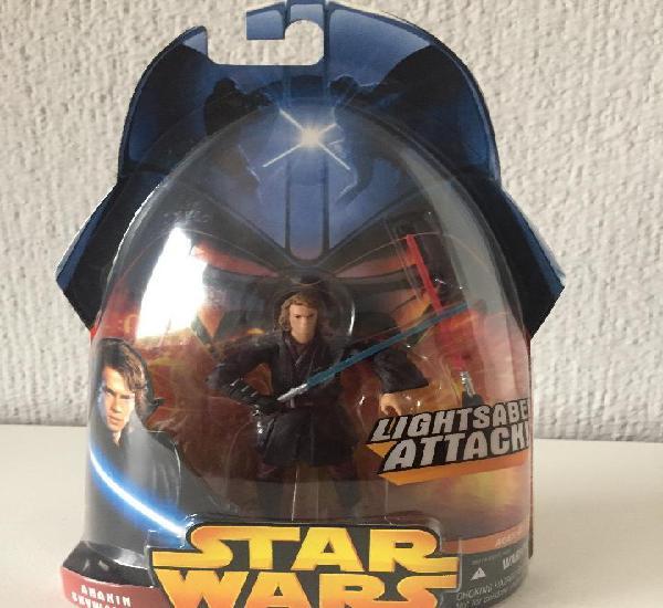 Anakin skywalker lightsaber attack! - star wars - e. iii /