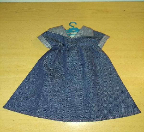 Antiguo vestido conjunto preu muñeca nancy original años