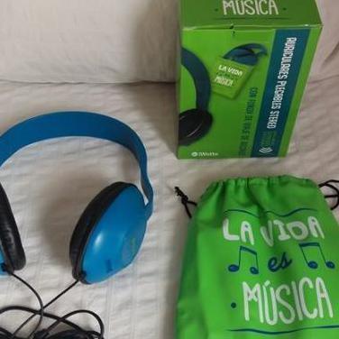 Auriculares plegables stereo - nuevos