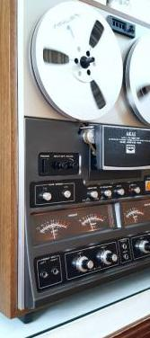 Akai gx-297d-ss magnetofon reel quad vintage