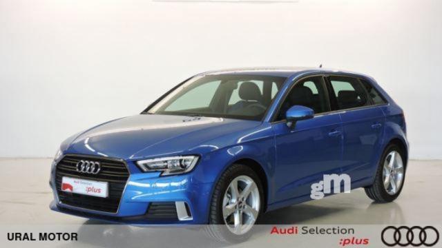 Audi a3 sportback 1.6 tdi diésel azul