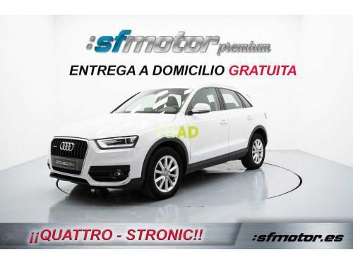 Audi q3 2.0 tdi quattro stronic advance edition 140cv auto