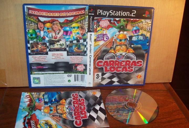 Buzz junior carreras locas - playstation 2 pal españa