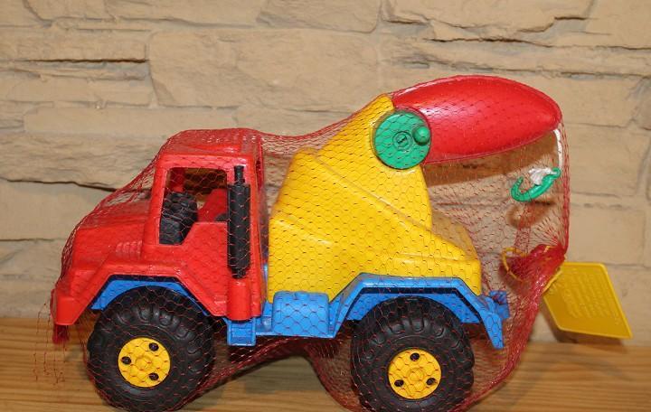 Camion grua - nuevo y precintado - 25cm aprox - plastico