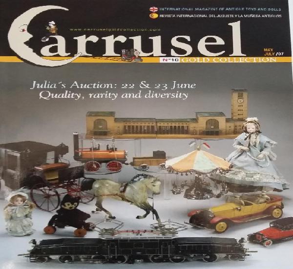 Carrusel-10 revista juguetes. año 2007