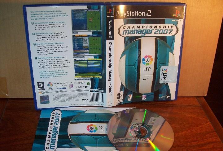 Championship manager 2007 - playstation 2 pal españa