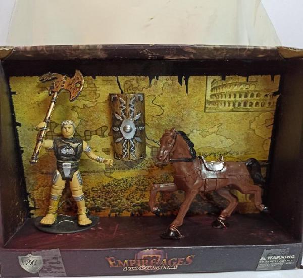 Composicion de muñeco y caballo de empire ages
