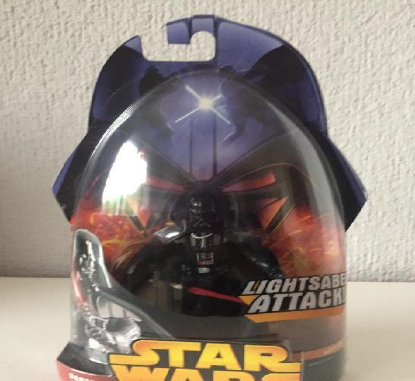 Darth vader lightsaber attack! - star wars - e. iii / fig.