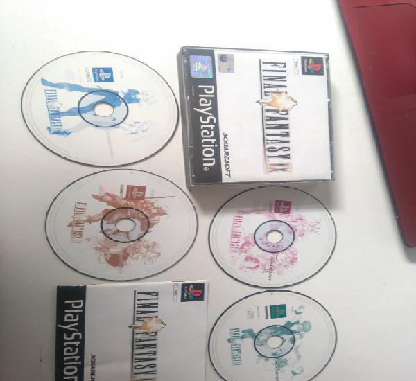 Final fantasy ps1 ps2 ps3 entre mire mis otros juegos