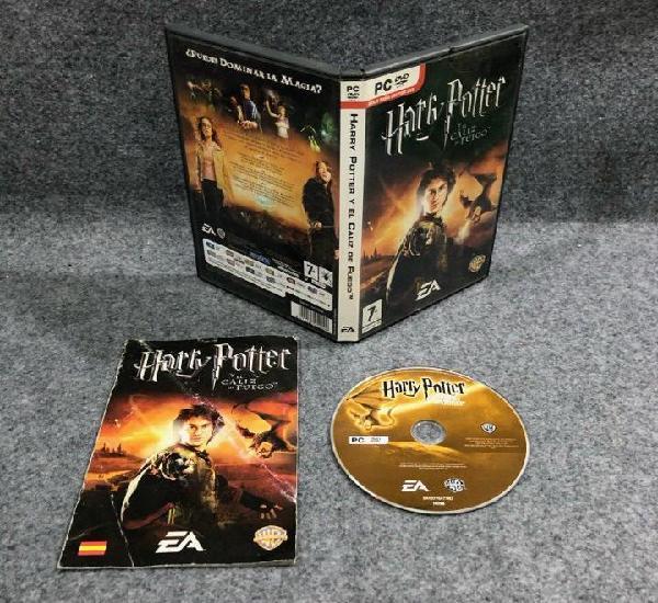 Harry potter y el caliz de fuego pc