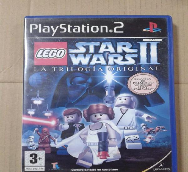 Lego star wars ii la trilogia original. ps2 *leer