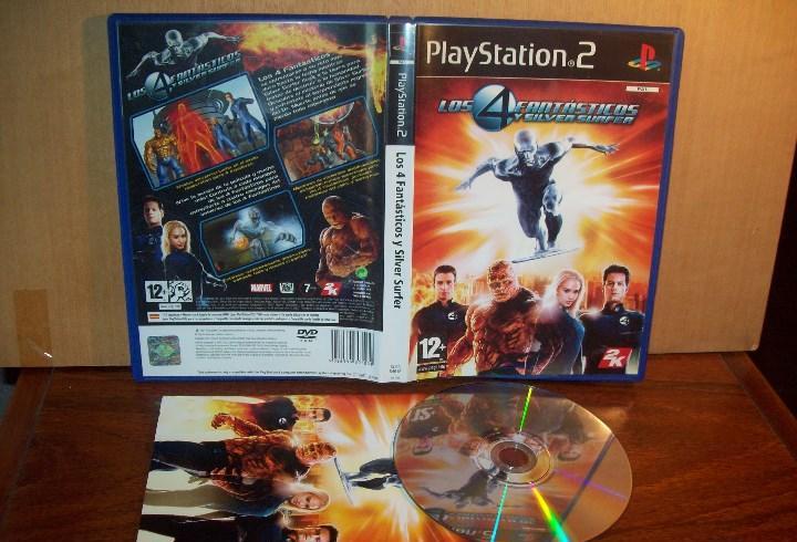 Los 4 fantasticos y silver surfer - playstation 2 pal