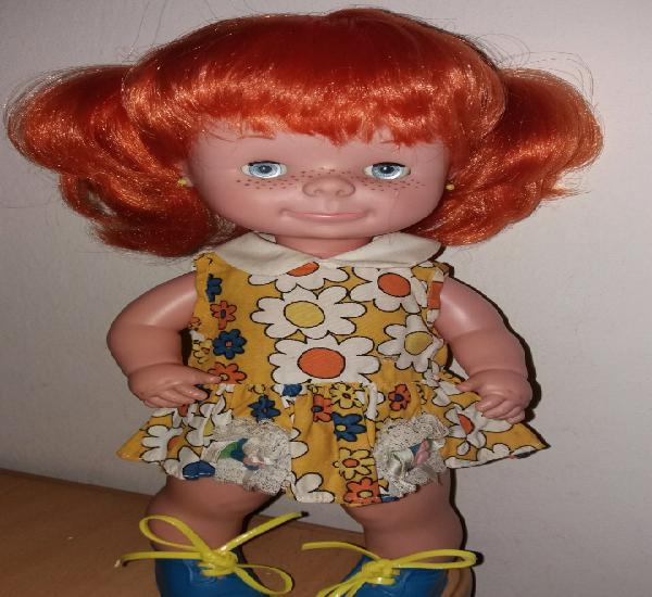 Muñeca chatuca pippi pipi de famosa años 70