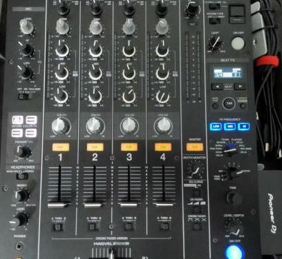 Mesa de mezclas dj pioneer djm 750 mk2