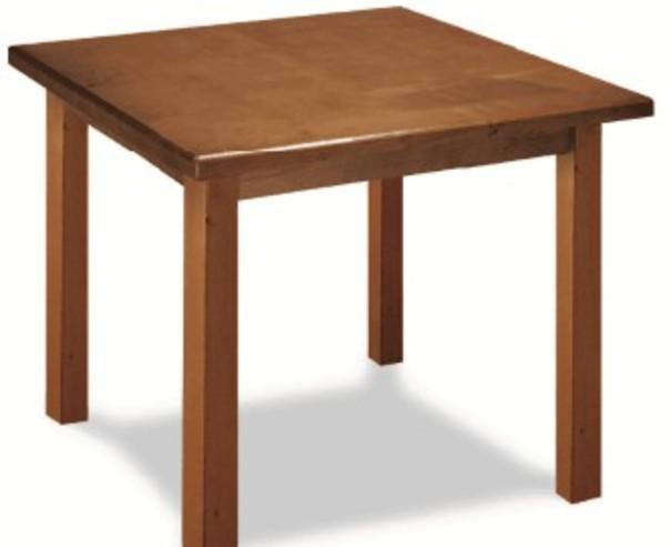 Mesas para interior fabricadas en madera o metálicas
