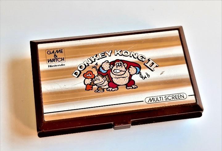 Nintendo donkey kong ii maquinita,game &watch multi screen -