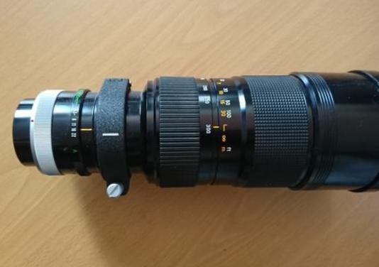Objetivo canon fd 85-300 mm, f 1/4.5