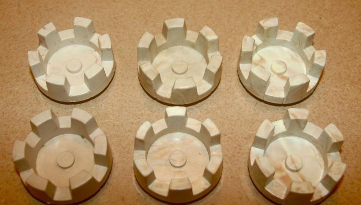 Oferta: 6 almenas redondas pequeñas de exin castillos