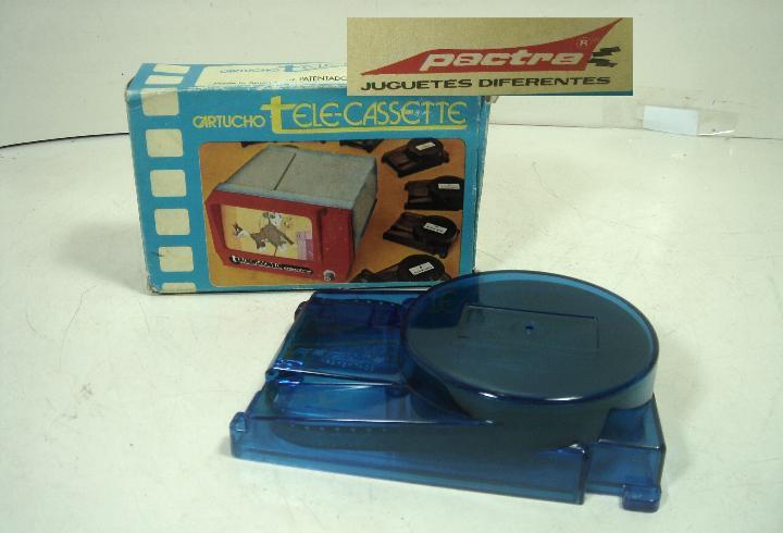 Pelicula tele-casette cartucho-pactra spain años 70-tom y