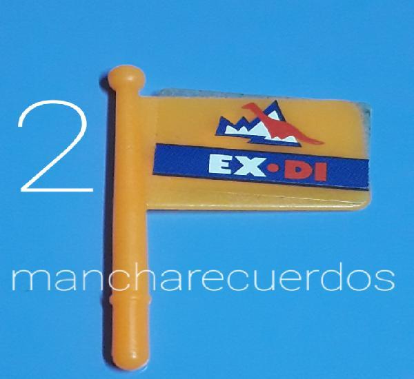 Playmobil 3193 bandera naranja ex-di expedicion polar dinos