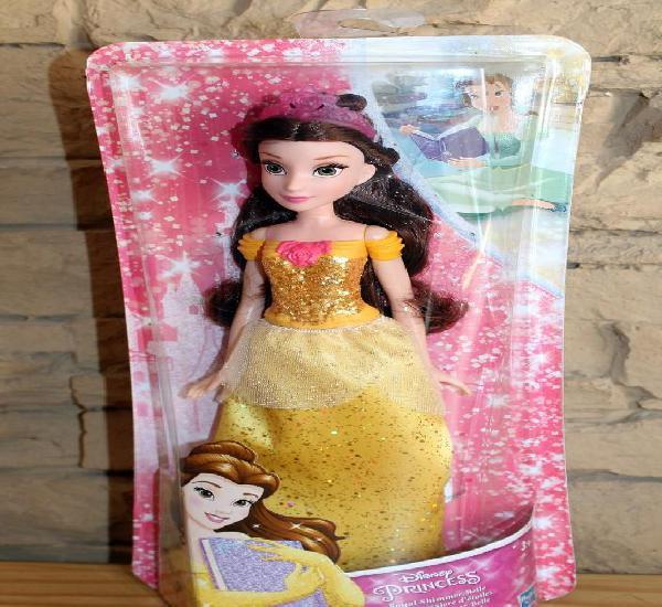 Princesas disney - bella - hasbro - nueva y en su caja