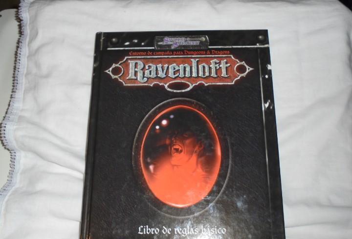 Ravenloft libro de reglas basico.entorno de campaña para