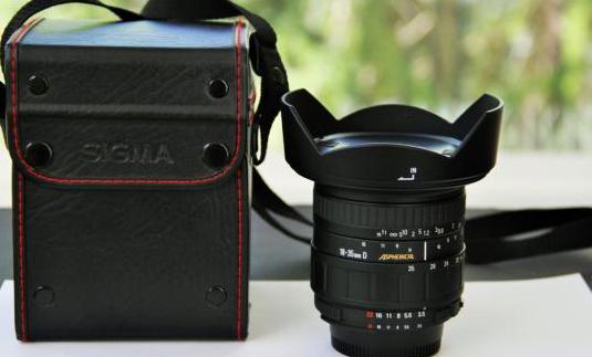 Sigma 18-35mm f3.5-4 d aspherical para nikon