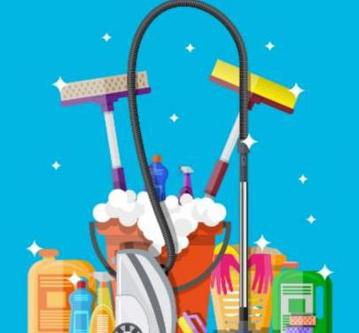 Trabajos de limpieza