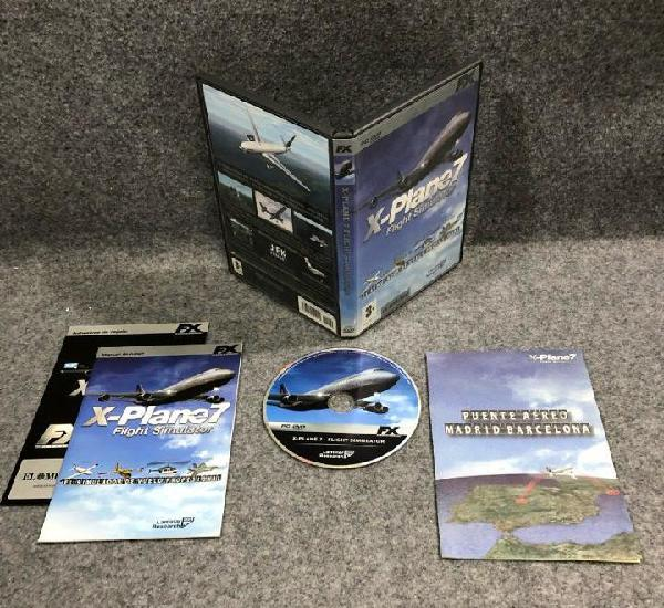 X plane 7 flight simulator pc