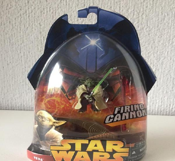 Yoda firing cannon! - star wars - e. iii / fig. 3 - revenge