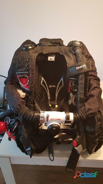 Buceo tec rebreather talla l