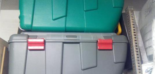 Caja portaequipos c/ruedas doble tapa